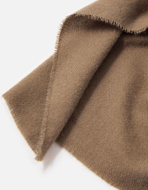 Wells Blanket Scarf Camel, , large
