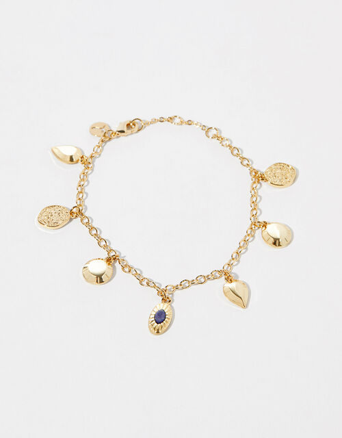 Gold-Plated Charm Bracelet, , large