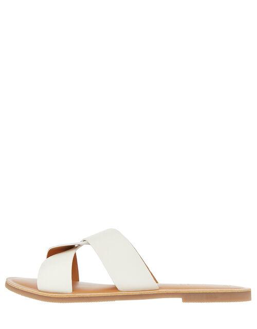 Seville Twist Sliders, White (WHITE), large
