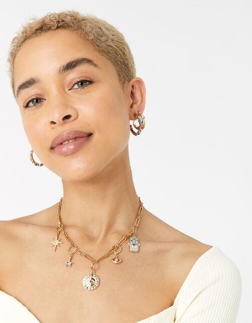 Feel Good Interchangeable Pendant Necklace, , large
