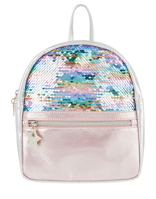 Glittery Sequin Backpack, , large