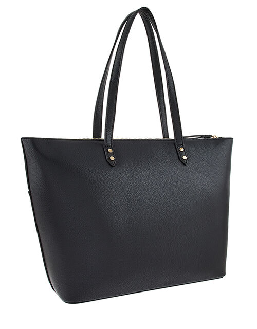 Molly Tote Bag, Black (BLACK), large