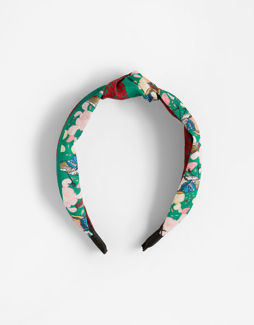 Printed Knot Headband, , large