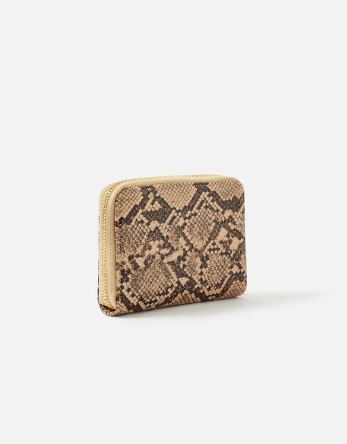 Medium Zip Purse Wallet, Nude (NUDE), large