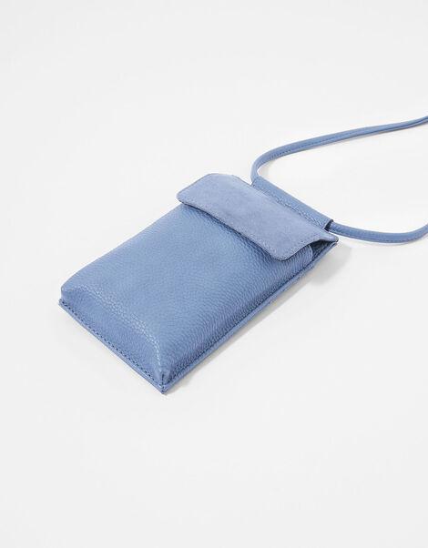 Carrie Utility Phone Bag Blue, Blue (BLUE), large