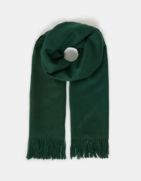 Holly Super-Soft Blanket Scarf Green, , large