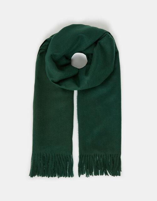 Holly Super-Soft Blanket Scarf Green, , large