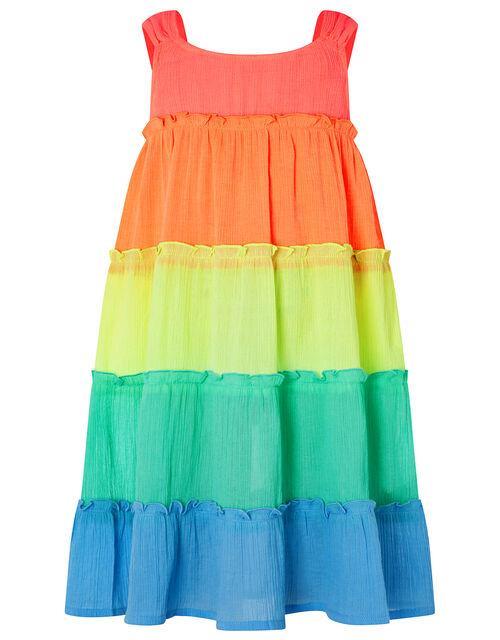 Rainbow Dress, Multi (BRIGHTS-MULTI), large