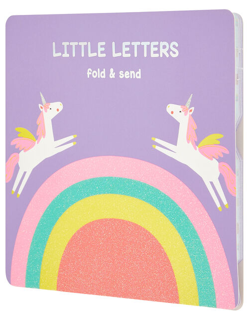 Rainbow Unicorn Little Letters Set, , large