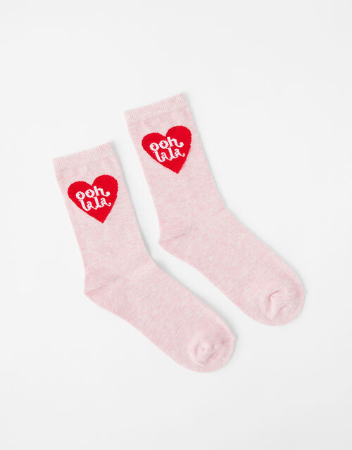 Ooh LaLa Heart Socks, , large