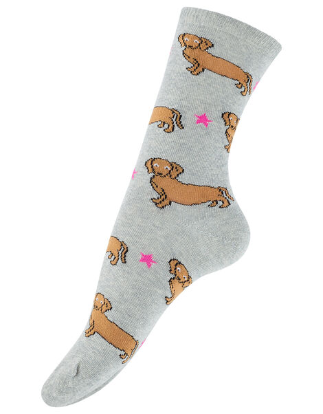 Sausage Dog Ankle Socks, , large
