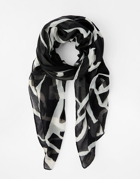 Gibra Animal Scarf in Recycled Polyester, , large