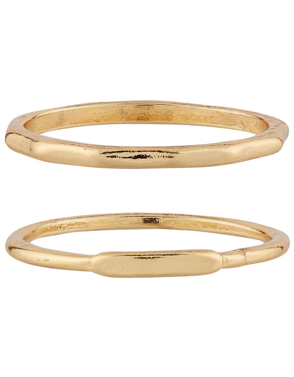 Basic Stacking Ring Set, Gold (GOLD), large