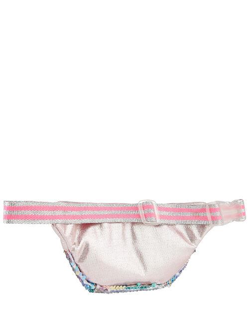 Glitter Sequin Belt Bag, , large