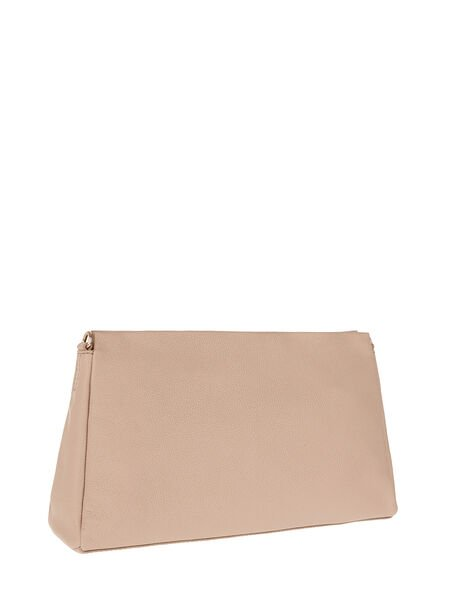 Jane Leather and Suede Clutch Bag, , large