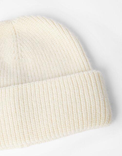 Boston Chunky Beanie Hat, , large