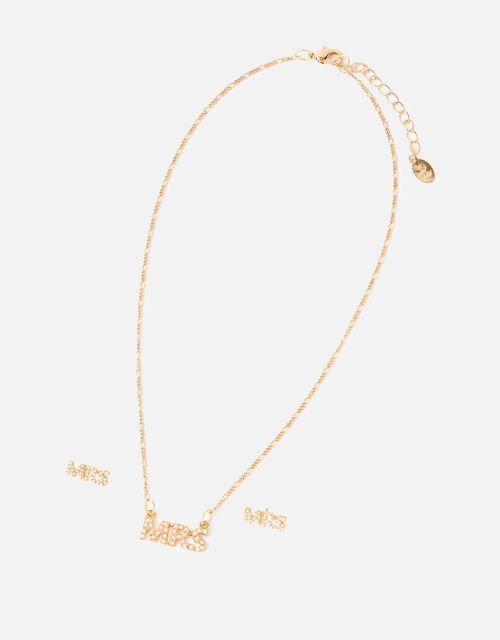 Mrs Pearl Jewellery Set, , large
