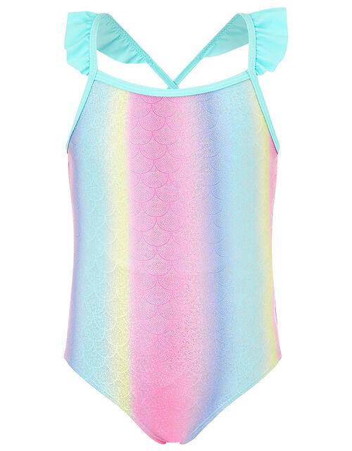 Mermaid Swimsuit, Multi (BRIGHTS-MULTI), large