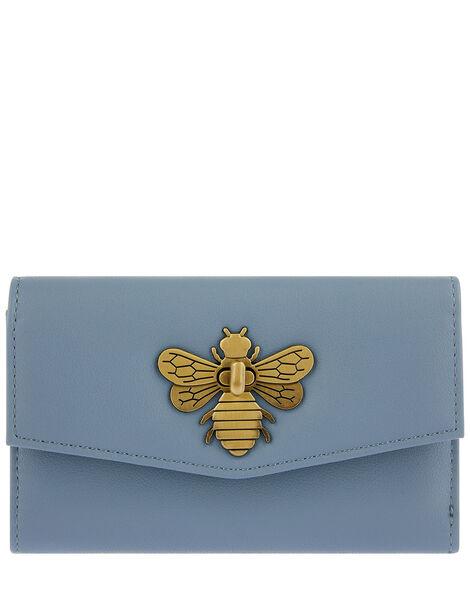 Britney Bee Wallet Blue, Blue (BLUE), large
