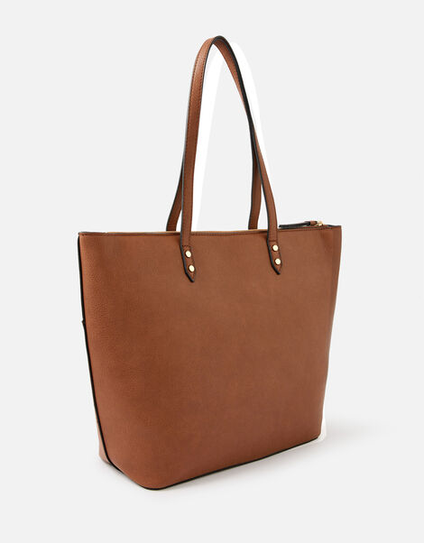 Molly Tote Bag Tan, Tan (TAN), large
