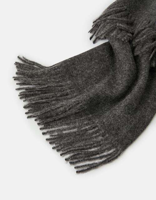 Holly Super-Soft Blanket Scarf Grey, , large