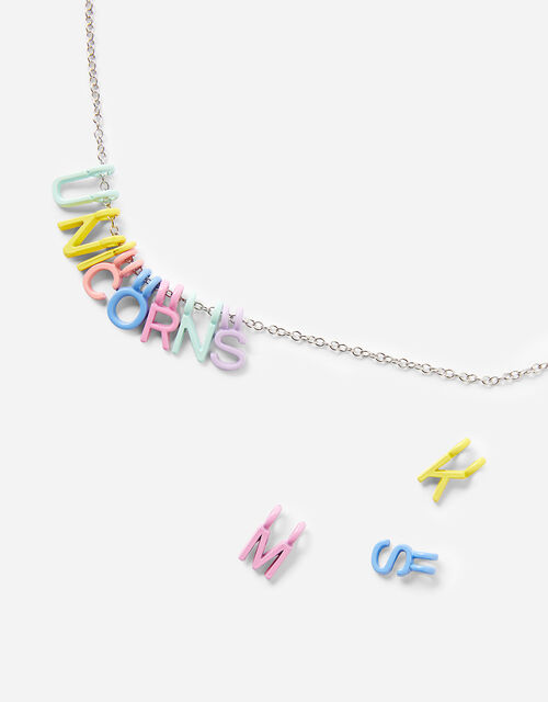 Make-Your-Own Letter Necklace, , large