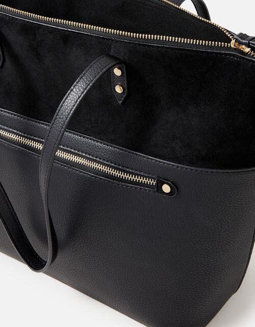 Molly Tote Bag, Black (BLACK), large