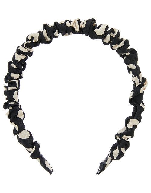 Slim Ruched Headband Set, , large