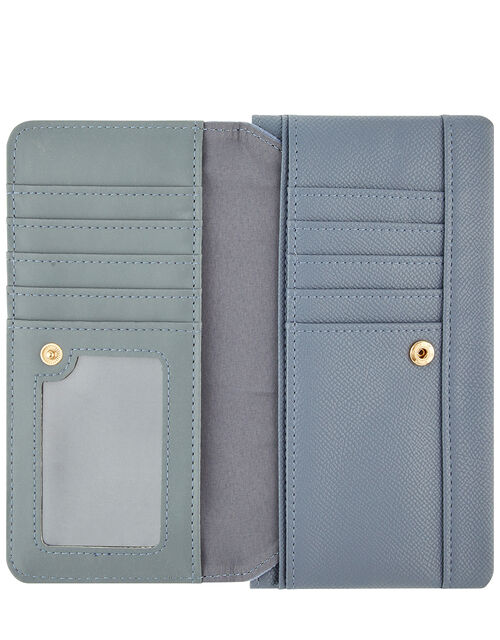 Appleton Vegan Wallet, Blue (BLUE), large