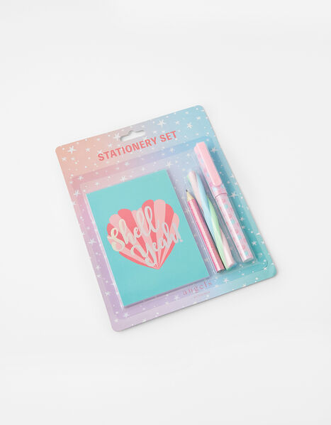 Shell Stationery Set, , large