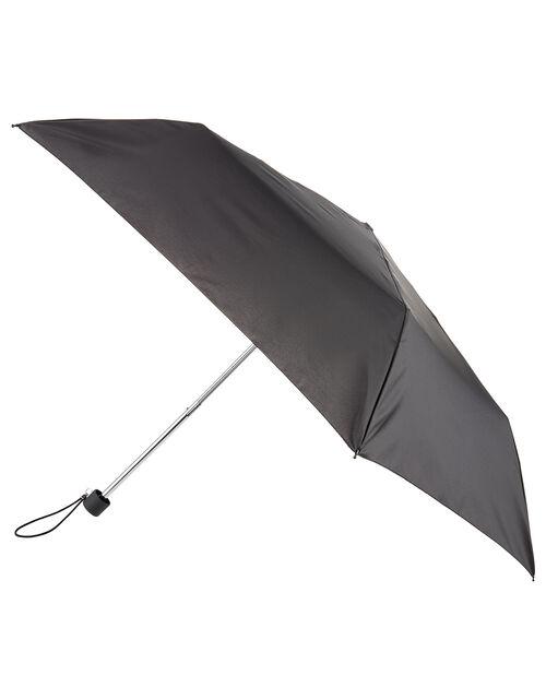 Black Superslim Umbrella, , large