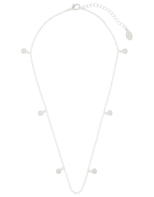 Discy Chain Pendant Necklace, , large