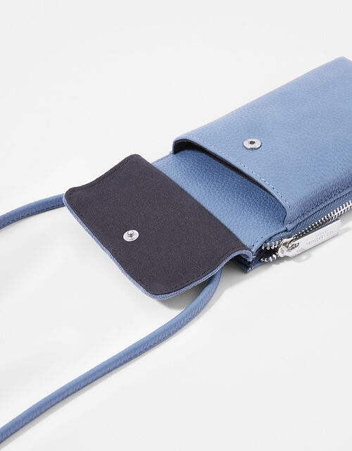 Carrie Utility Phone Bag, Blue (BLUE), large