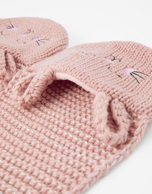 Bunny Knit Scarf, , large