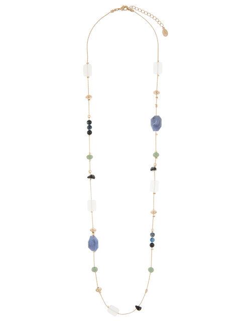Beaded Rope Necklace and Bracelet Set, , large
