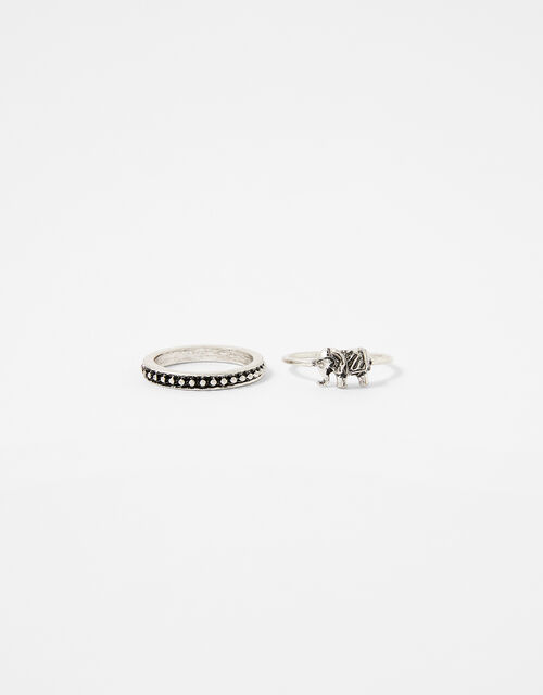 Elephant Ring Set, Blue (TURQUOISE), large