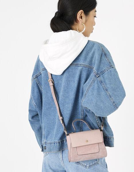 Ellie Top Handle Bag Pink, Pink (PINK), large