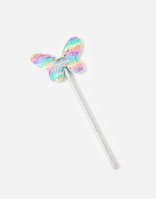 Reversible Sequin Butterfly Pencil, , large