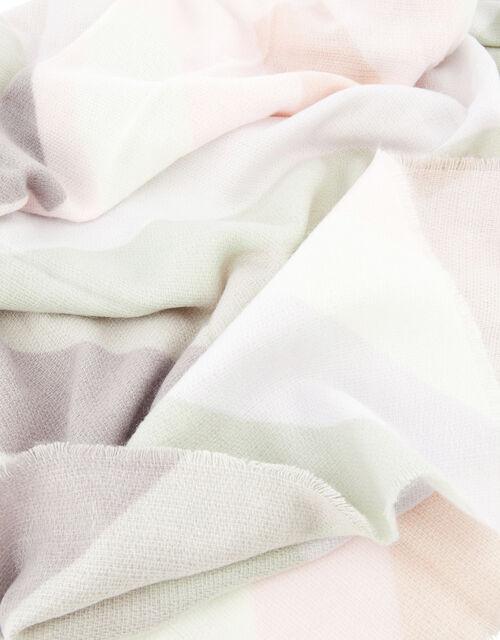 Pastel Chevron Blanket Scarf, , large