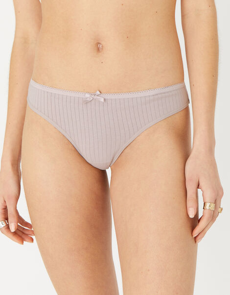 Ribbed Thong Multipack Multi, Multi (ASSORTED), large