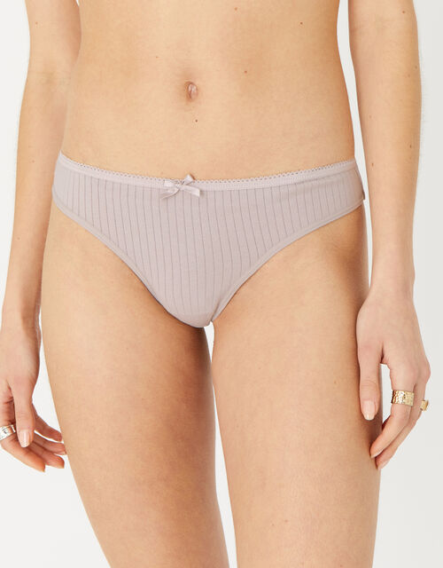 Ribbed Thong Multipack, Multi (ASSORTED), large