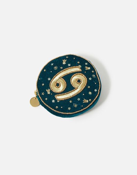 Star Sign Coin Purse Teal, Teal (TEAL), large