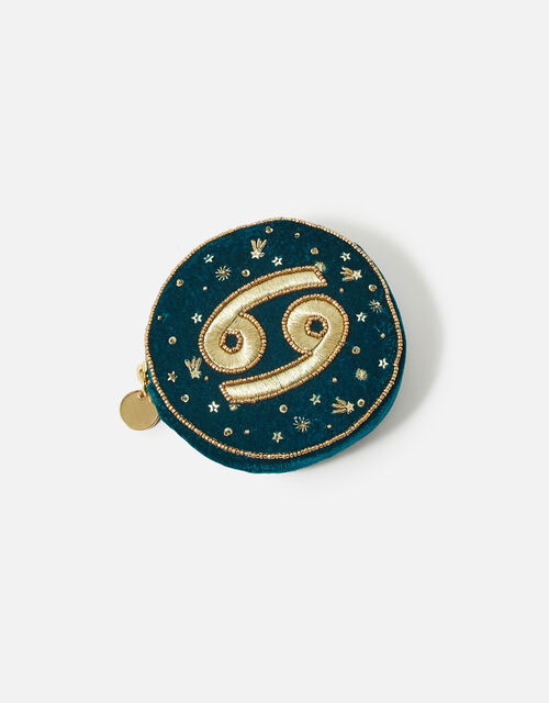 Star Sign Coin Purse, Teal (TEAL), large