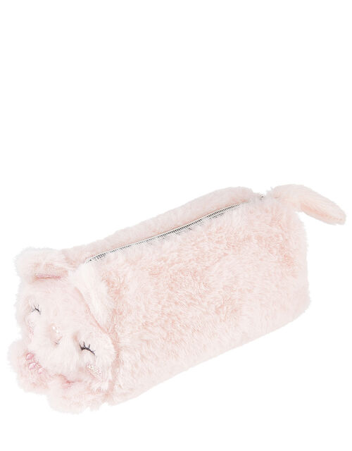 Fluffy Cat Pencil Case, , large