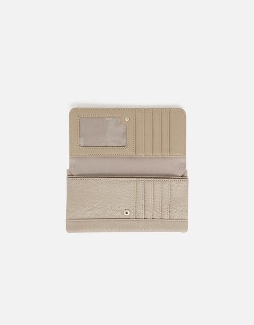 Appleton Suedette Wallet, Grey (GREY), large
