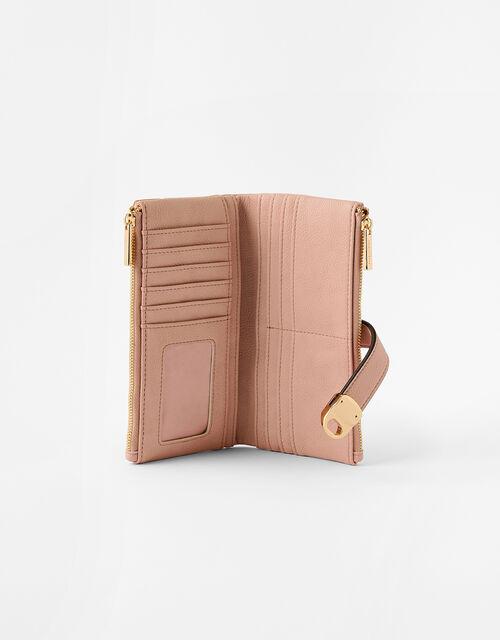 Freya Push-Lock Wallet, Nude (NUDE), large