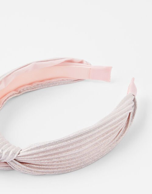 Shimmer Knot Headband, , large