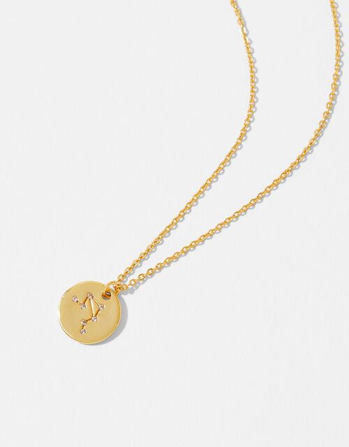 Gold Vermeil Constellation Necklace – Libra, , large