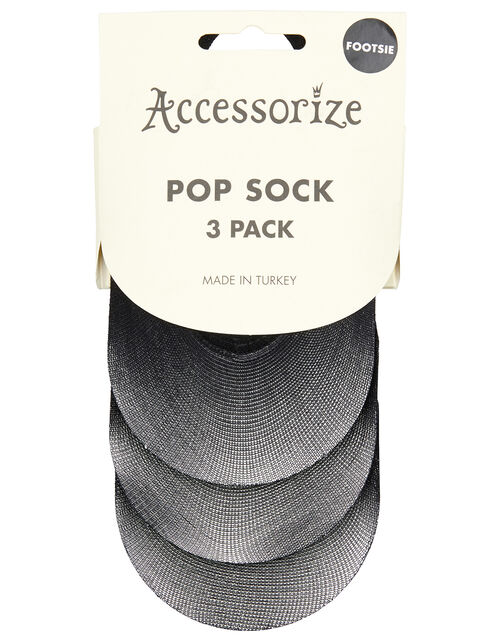 X3 Pop Socks, Black (BLACK), large