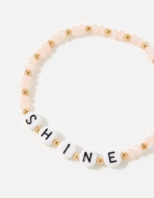 Feel Good Shine Bracelet, Pink (PINK), large
